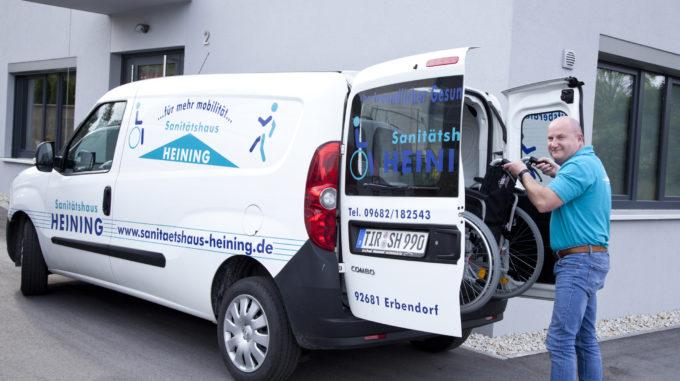 Sanitaetshaus Heining Auto